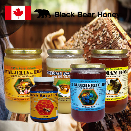 [CANADA] GOLDEN NATURAL RAW HONEY 천연생꿀 1KG