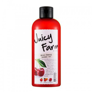 JUICY FARM SHOWER GEL (WILD CHERRY 'BODY WASH'  DB128