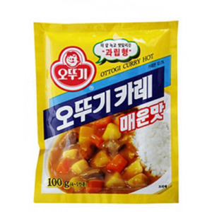 OTTOGI CURRY POWDER-HOT 분말카레(메운맛) 1Kg   05871