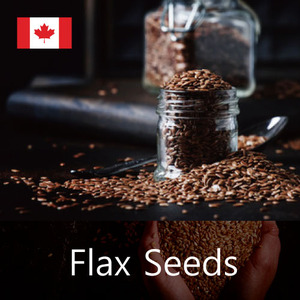 [FLAX SEED]   CANADIAN FLAX-SEEDS
